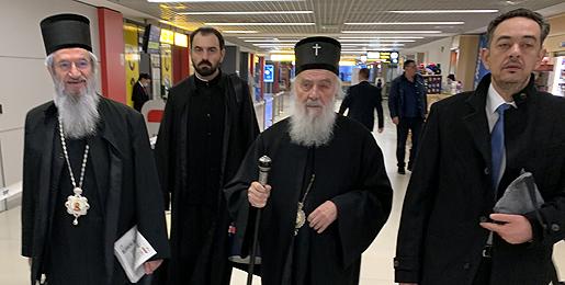 Patrijarh srpski Irinej uoči odlaska u SAD