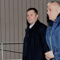 Mladen Mijatović (lijevo) u pratnji advokata Danila Mićovića
