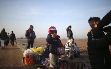 Migranti u Pazarluku na kapiji tursko-grčke granice