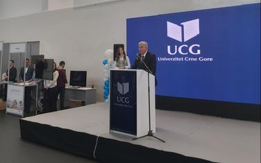 Golubović na sajmu sezonskog zapošljavanja na Danu otvorenih vrata Univerziteta Crne Gore