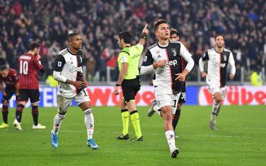 Dibala slavi gol protiv Milana u prvenstvu