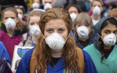 Sa jednog od protesta u Londonu