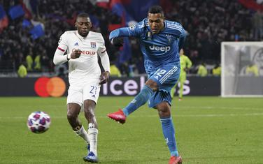 Detalj sa prvog meča Liona i Juventusa