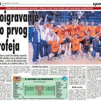 """Strana """"Vijesti"""" od 2. marta 2010."""