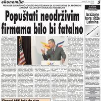 """Strana """"Vijesti"""" od 9. marta 2010."""
