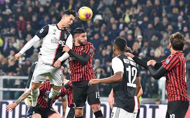 Derbi Juve - Milan odložen do daljnjeg