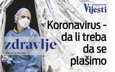 Dodatak Zdravlje - sve o koronavirusu
