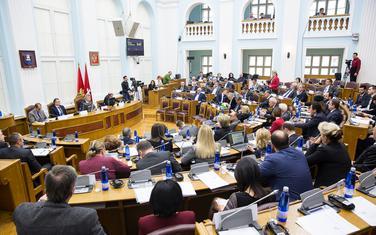 Sa zasijedanja Skupštine na Cetinju