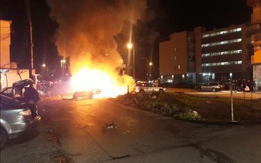 Sa mjesta eksplozije: Blok 6 kod marketa Lida