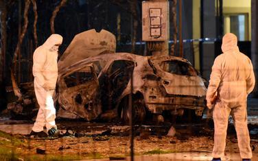 Uviđaj na mjestu eksplozije u Dalmatinskoj ulici