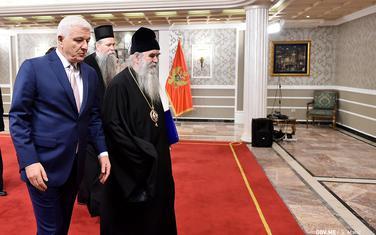 Sa prvog sastanka Vlade i Mitropolije: Marković i Amfilohije