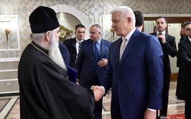 O Zakonu o slobodi vjeroispovijesti razgovarali 14. februara: Mitropolit Amfilohije i premijer Duško Marković