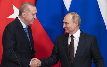 Erdogan i Putin nakon dogovora