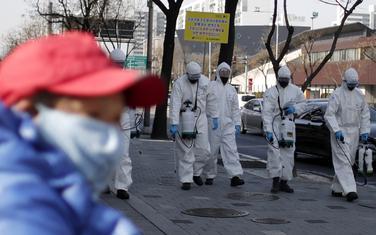 Koronavirus Južna Koreja