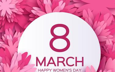 8. mart, Međunarodni dan žena (Ilustracija)