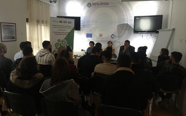 Obuka se organizuje u okviru projekta:Osnaživanje RE zajednice za pristup tržištu rada