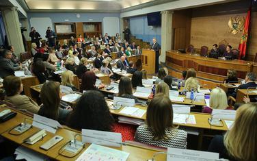 Sa zasijedanja Ženskog parlamenta