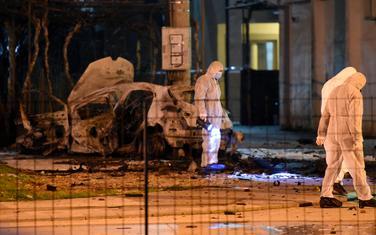 Eksplozija automobila u Podgorici