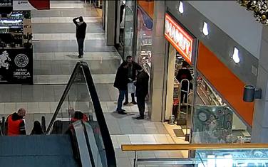 Snimak sa nadzorne kamere u Delti