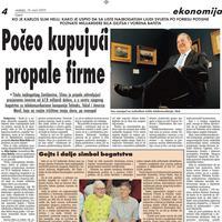 """Strana """"Vijesti"""" od 14. marta 2010."""