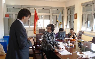 Bivša predsjednica će nositi listu DPS-a: Sa sjednice Opštinske izborne komisije: Jovanka Laličić (u sredini, arhiva