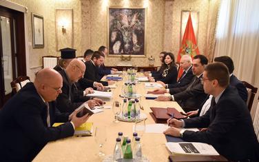Sa sastanka ekspertskih timova Vlade Crne Gore i Mitropolije crnogorsko-primorske i eparhija Srpske pravoslavne crkve u Crnoj Gori