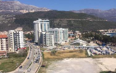Prostor na kome se planira gradnja hotela