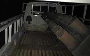 Raketni bacač pronađen u kamionu