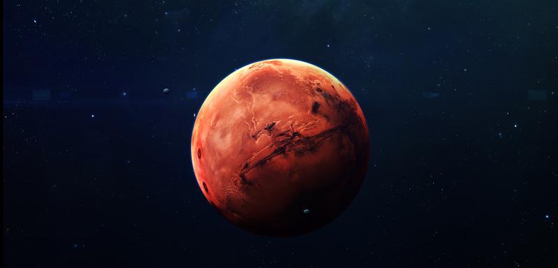 Planeta Mars: Ilustracija