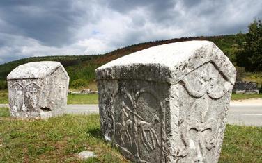 Stećci u Vinjanima, blizu Imotskog