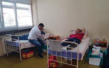 Akcija dobrovoljnog davanja krvi u Plužinama