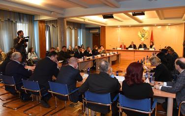 Privremeno zabranjeno okupljanje građana: Sa ranije sjednice jednog od odbora