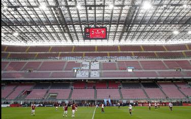 Sa meča Milan - Đenova