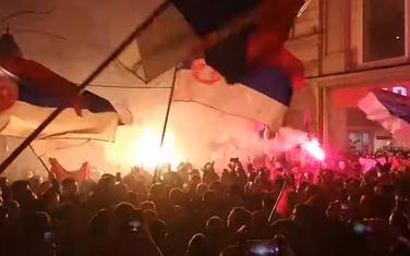 Tražili i da se crnogorski ambasador proglasi personom non grata: Sa protesta