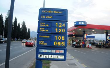 Cijene goriva iz aprila 2015.