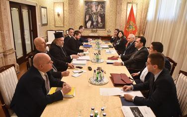 Sa prethodnih pregovora ekspertskih timova Vlade i Episkopskog Savjeta Srpske pravoslavne crkve