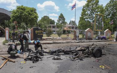 Tajland, napad