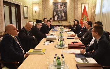 Sa prethodnog sastanka pregovaračkih timova Vlade i MCP