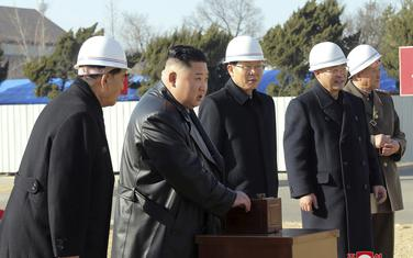 Kim na gradilištu