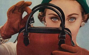 Reklama za torbu u sezoni zima 1937/1938