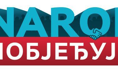 Logo koalicije narod pobjeđuje