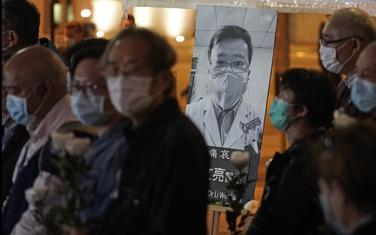 Detalj sa protesta iz Hong Konga