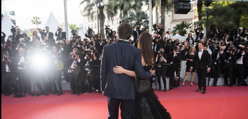 Detalj sa kanskog festivala 2018. godine: Javier Bardem i Penelope Kruz