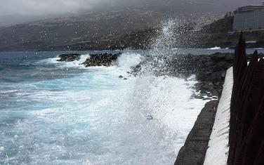 Atlantik udara u vulkansko ostrvo