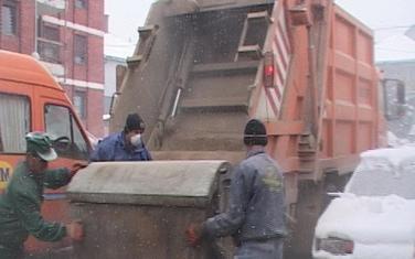 Kamioni Čistoće u Pljevljima