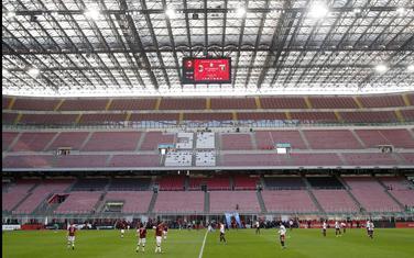 Sa utakmice Milan - Đenova