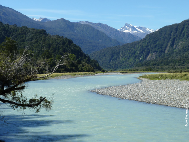 Rijeka na Novom Zelandu