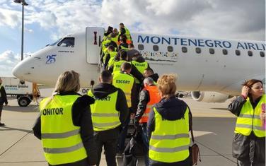 krcavanje tima koji će izvršiti operaciju readmisije crnogorskih državljana iz Hanovera