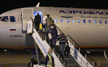 Avion sa ruskim državljanima iz Podgorice odlazi za Rusiju