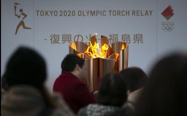 Olimpijski plamen u Fukušimi